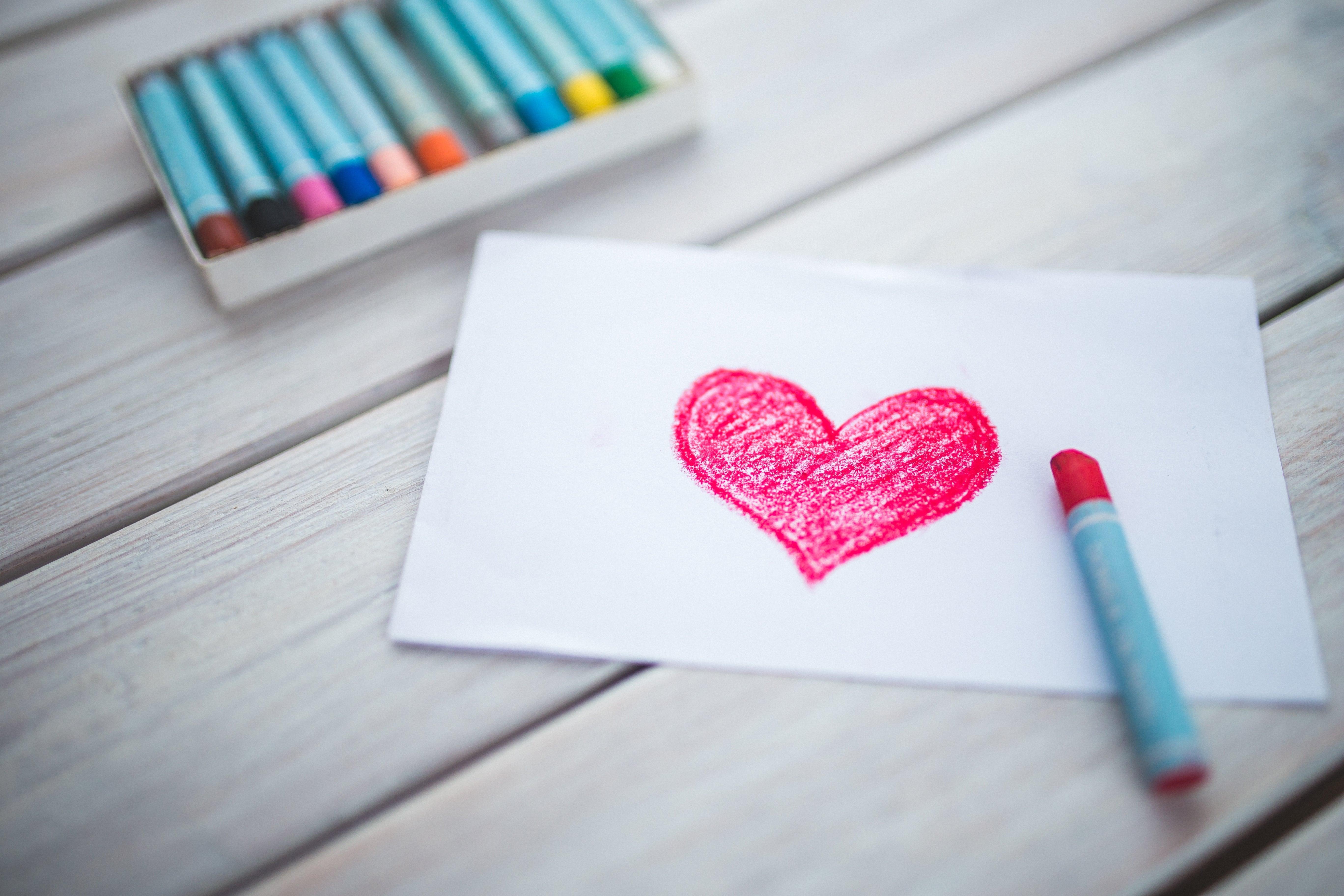 corazón en calendario vacunal
